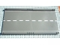 Baseplate, Road 32 x 16 Ramp, Straight with White Center Stripe Pattern, 30401px1