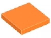Lego Fliese 2 x 2 orange 3068