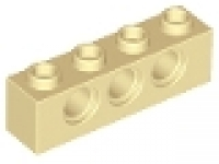 Technikstein 1x4 tan, neu