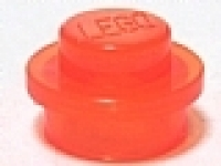 Rundstein  1 x 1 x 0.33 tr. neon- orange 4073 neu