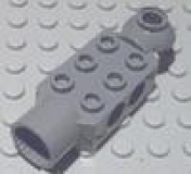 Technic Brick 2 x 3 with Holes, Horizontal Click Rotation Hinge, and Socket