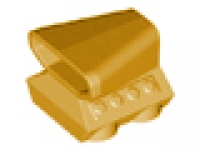 'Car Engine 2 x 2 with Air Scoop' 50943 perl gold
