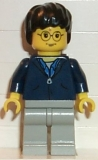 Harry Potter, Dark Blue Jacket Torso, Light Gray Legs