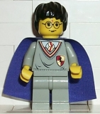 Harry Potter, Gryffindor Shield Torso, Light Gray Legs, Violet Cape