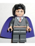 Harry Potter, Gryffindor Stripe Torso, Dark Bluish Gray Legs Violet Cape