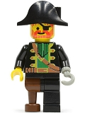 Captain Red Beard with Pirate Hat, pi002