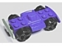 Fahrgestell 4 x 4 violet, Racerbase