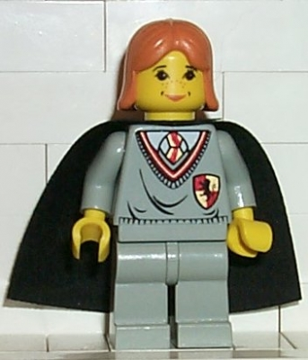Ginny, Gryffindor Shield Torso, Light Gray Legs