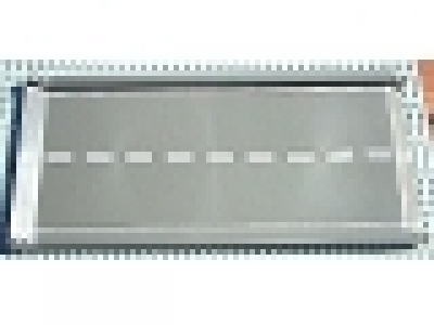Baseplate, Road 32 x 16 Ramp, Inclined with White Center Stripe Pattern