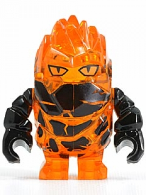 "Power Miners: pm025 Rock Monster ""Meltrox"", tr orange"