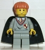 Ron Weasley, Gryffindor Shield Torso, Light Gray Legs, Black Cape with Stars